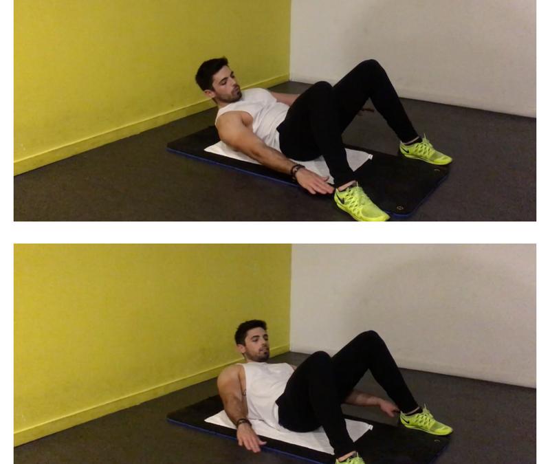 Exercice musculation: Flexion latérale