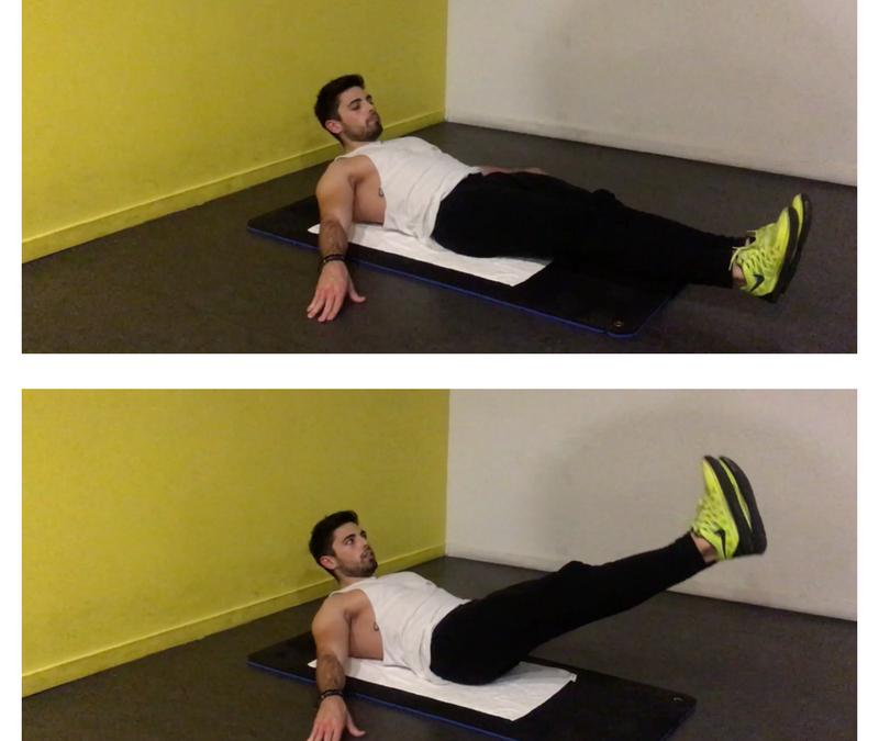 Exercice musculation: Relevé de Jambes