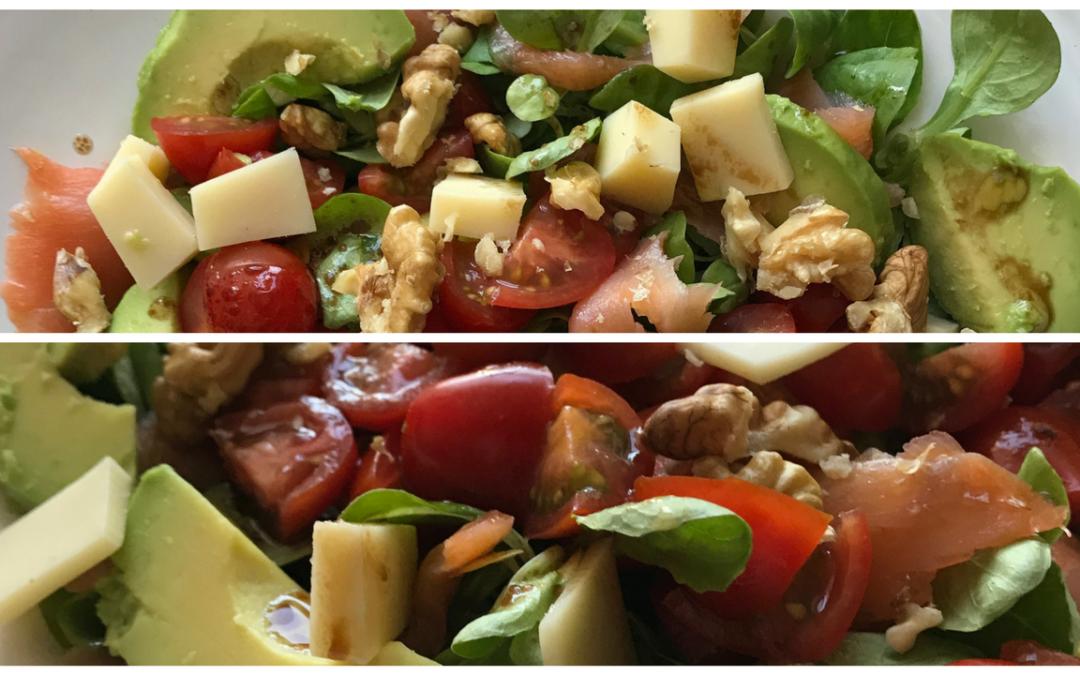 Recette Salade Saumon et Avocat