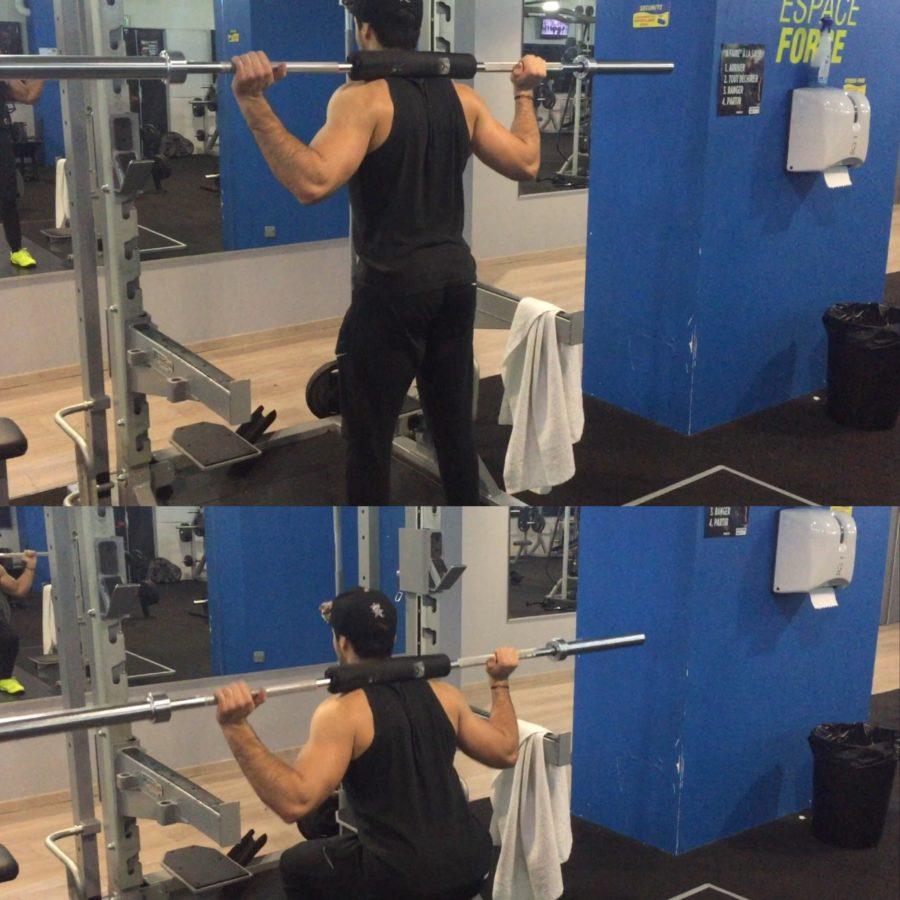 exercice programme split- squat