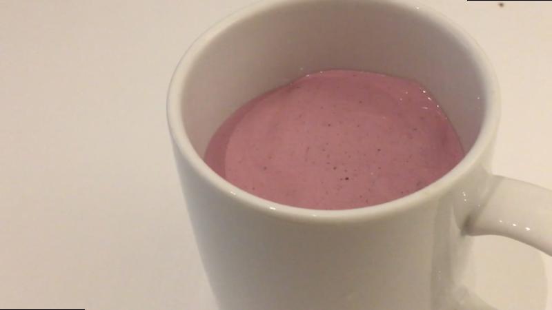 Recette Milkshake protéiné aux fruits rouges
