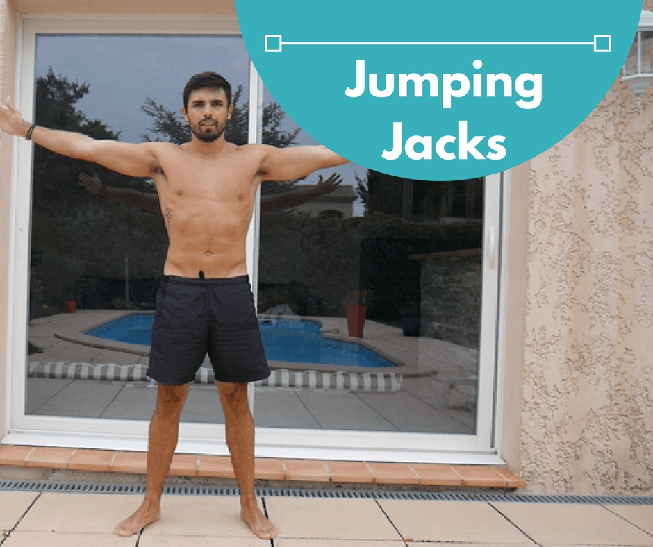 Exercice de musculation naturelle : le Jumping Jacks