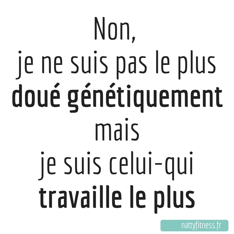 Citation de motivation pour remise au sport