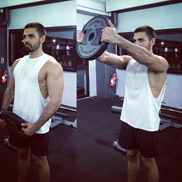 exercices musculation épaules