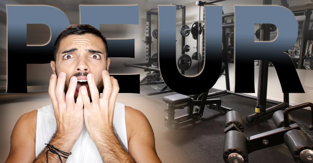 peur de la salle de sport comment d passer cette peur. Black Bedroom Furniture Sets. Home Design Ideas