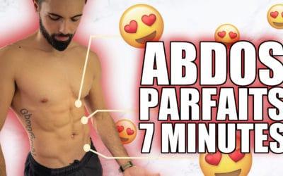 Entraînement ABDOMINAUX réellement EFFICACE en seulement 7 Minutes !