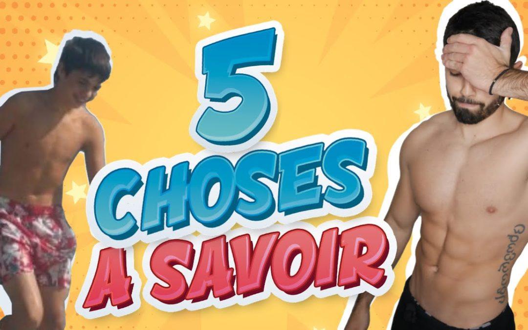 5 CHOSES que j'aurais aimé SAVOIR AVANT DE ME LANCER [MUSCULATION]