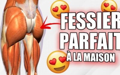 Musclez votre FESSIER ( 5 exercices à faire à la maison)